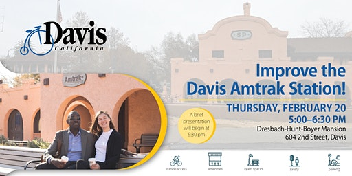 Davis Amtrak Access and Connections Study Community Open House