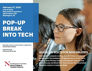 Pop-Up Break Into Tech: Washington, DC tickets