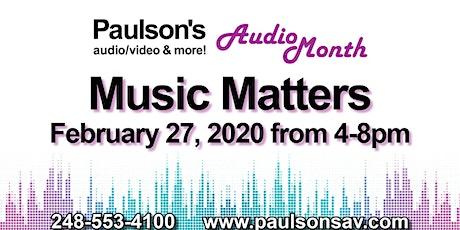 Music Matters Event tickets