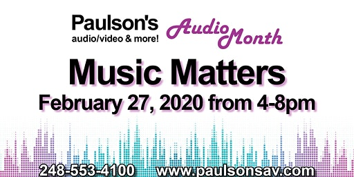 Music Matters Event