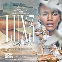 Luxe on the River: The Luxurious All White Affair