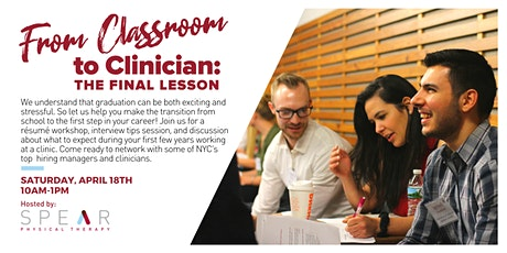 From Classroom to Clinician: The Final Lesson tickets