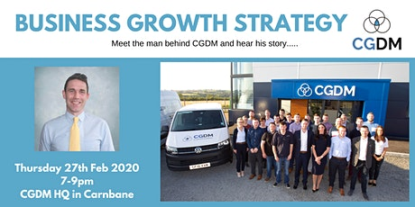 Business Growth Strategy with CGDM Construction tickets