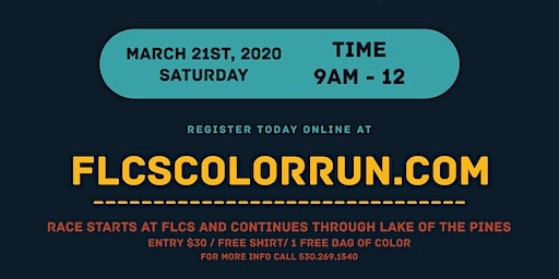 FLCS First Annual 5k Color Run