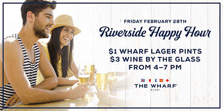 Riverside Happy Hour tickets