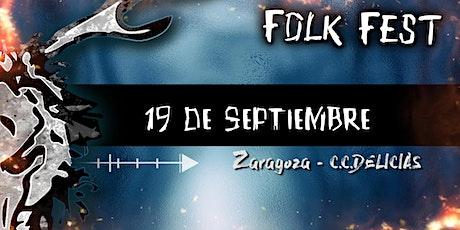 FOLK FEST ZGZ entradas