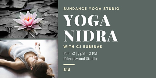 Yoga Nidra with CJ Rubenak