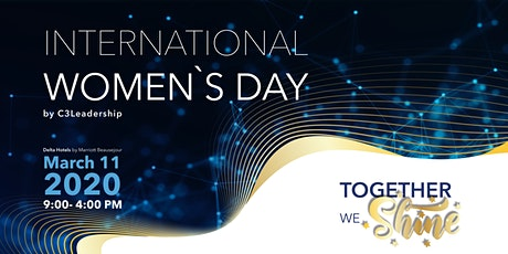 'Together We Shine' International Women's Day Workshops and 'Legends' Luncheon tickets