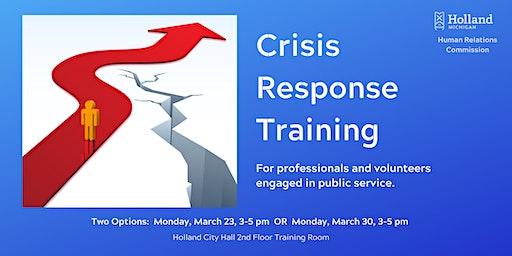 Crisis Response Training