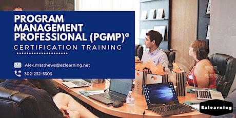 PgMP Certification Training in Sainte-Foy, PE tickets