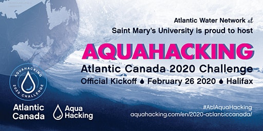 Kickoff Event: AquaHacking Challenge 2020 in Atlantic Canada