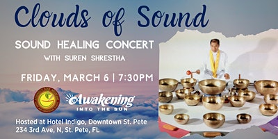 Clouds of Sound Meditation Concert with Suren Shrestha