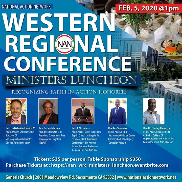 National Action Network Western Regional Conference Ministers Luncheon image