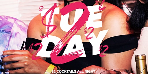 $2 Tuesdays @ Stadium Club DC | RSVP For Complimentary Admission