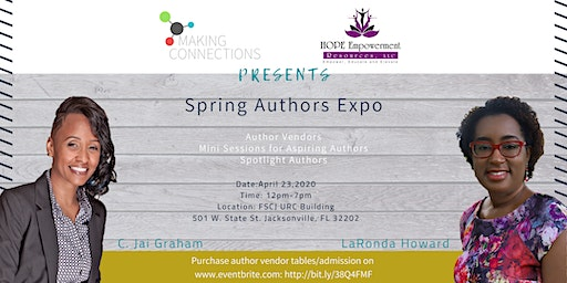 Spring Brilliant Authors Expo