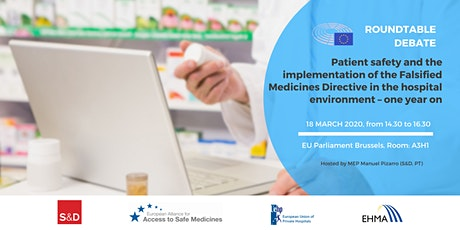 Patient safety and the implementation of the Falsified Medicines Directive tickets