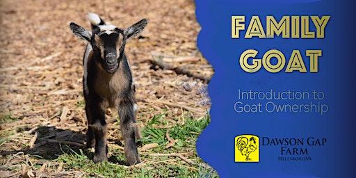 Family Goat Workshop