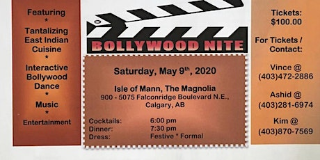For the love of children's charity gala Bollywood tickets