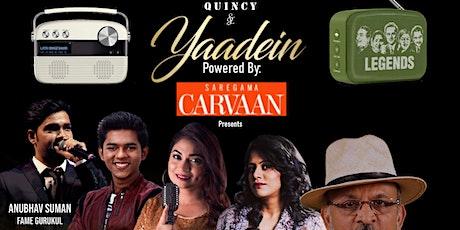 Yaadein Presents: Bollywood Talkies WITH  ANNU KAPOOR  (Suhana Safar) tickets