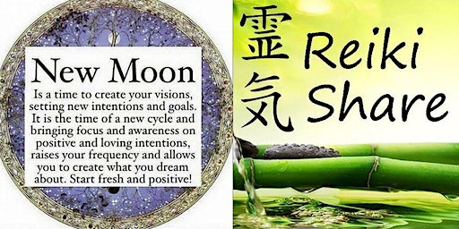 New Moon Manifestation / Reiki Share