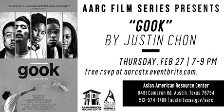 "AARC Film Series: Justin Chon's ""Gook"" tickets"