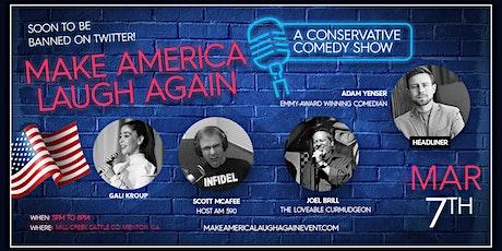 Make America Laugh Again - Dinner & Comedy Social Event in Mentone tickets