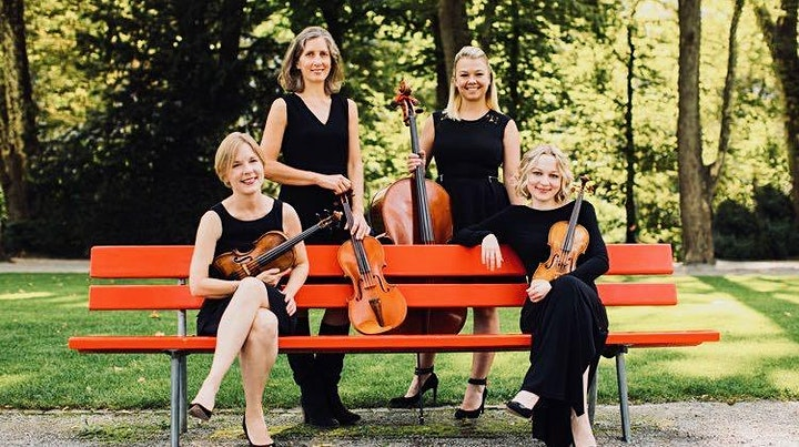 The Clarion String Quartet - Giving Voice to Genius image