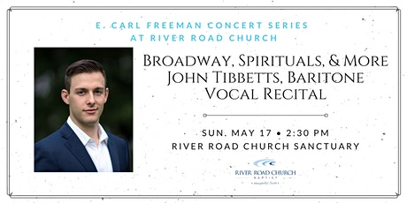 Broadway, Spirituals, and More! — John Tibbetts, Baritone tickets