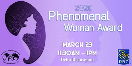 2020 Phenomenal Woman Award Luncheon  tickets