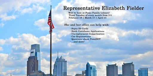 Representative Elizabeth Fiedler Mobile Office Hours at the Library