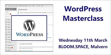 WordPress Masterclass, Malvern, Worcestershire tickets