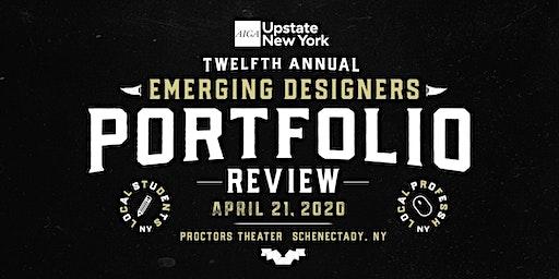 2020 AIGA UPSTNY Portfolio Review (Schenectady, NY)