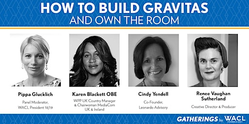 How to 'Own the Room' and build gravitas