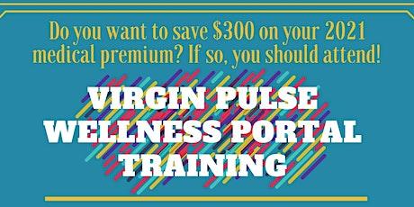 Virgin Pulse Wellness Portal Training tickets