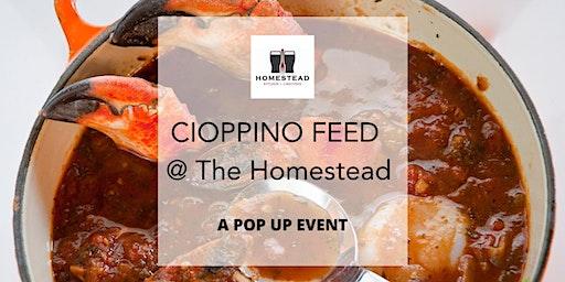 Cioppino Feed @The Homestead