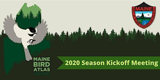 Maine Bird Atlas: 2020 Season Kickoff Meeting