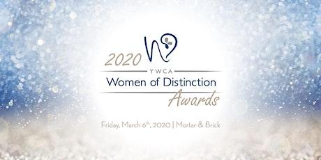 2020 YWCA Women of Distinction Awards tickets