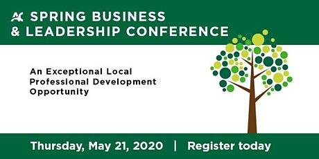 2020 Spring Business & Leadership Conference tickets