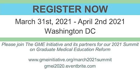 The GME Initiative 2021: Washington DC tickets