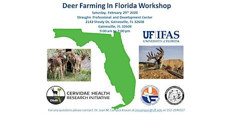 Deer Farming in Florida Workshop tickets