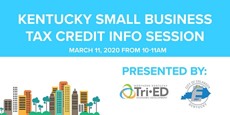 Kentucky Small Business Tax Credit Info Session tickets
