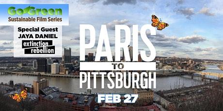 GO GREEN: FROM PARIS TO PITTSBURGH tickets