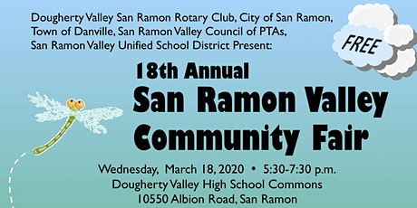 Vendor Registration for the San Ramon Valley Community Fair 2020 tickets