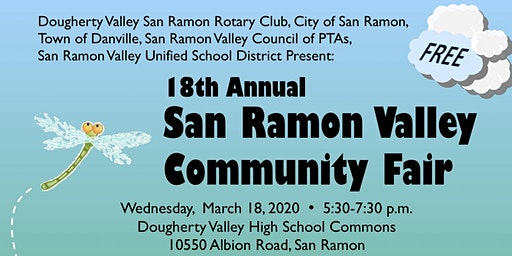 Vendor Registration for the San Ramon Valley Community Fair 2020
