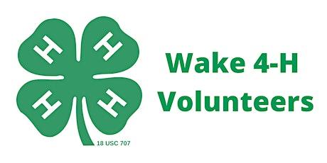 Wake 4-H Volunteer Orientation tickets