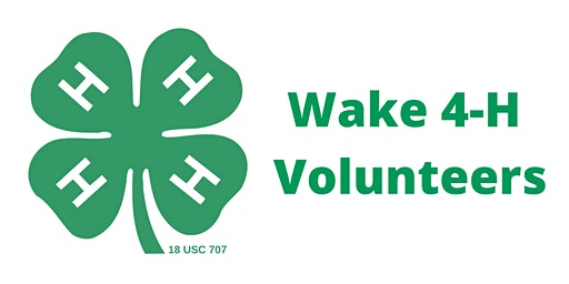 Wake 4-H Volunteer Orientation