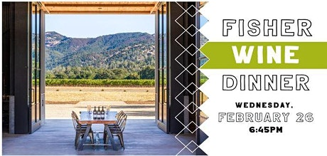 Fisher Wine Dinner tickets