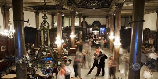 Tango Salon – La Confiteria Ideal + Q&A with Jana Bokova and Leslie Megahey