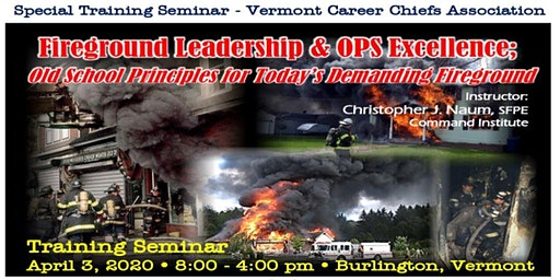 Fireground Leadership & Operational Excellence: 2020 Seminar
