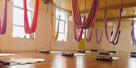 Aerial Relaxation Pod with Paddy Gallagher tickets